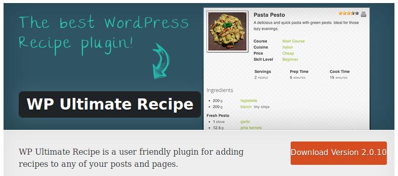 WP-Ultimate-Recipe